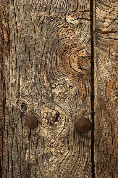 Tortured wood