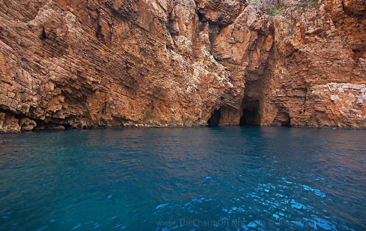 Les tres coves